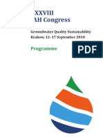 Final Programme of the XXXVIII IAH Congress