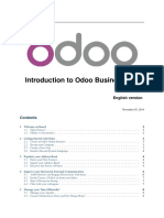 Odoo Introduction to Functional Training