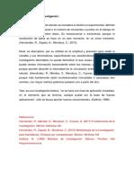 Ejemplo de Método y Diseño Investigación