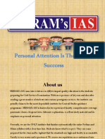 "SRIRAM's IAS ""Personal attention is the key to success"""
