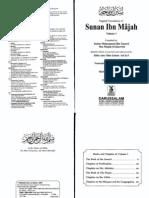 Sunan Ibn Majah Vol1 Eng