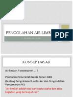Xxpengolahan Air Limbah i (2017)