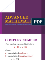 Advanced Mathematics Rev 2-1