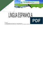 [Cliqueapostilas.com.Br] Lingua Espanhola