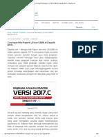 Cara Input Nilai Raport, US Dan USBN Di Dapodik 2017c _ Dejarfa