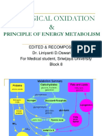 BIOLOGICAL OXIDATION & Principle of Energy Metabolism