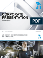 EBZ Group Corporate Presentation