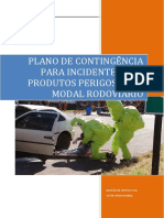 Plano de Contigencia Modl Rodoviario - Emergencia Produtos Perigosos