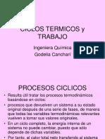 Ciclos Termicos y Trabajo