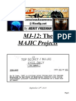 MJ-12 the MAJIC Projects