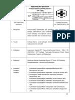 8.1.2 (11) SOP Pemantauan Penggunaan APD