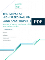 Impact High Speed Rail Land Property Values FINAL Feb2012 1