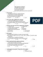 Pequeña Evaluación Morfología