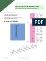 Steel Beam Column 2