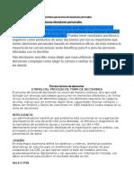 El Proceso de Toma de Decisiones ( Negociacion Empresarial )