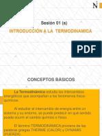 Principios Básicos de Termodinámica