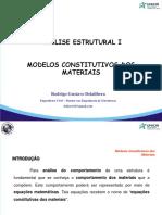 Aula 03 - Modelos Constitutivos