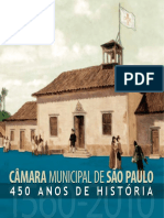 Livro Comemoração 450 Anos de São Paulo
