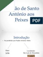 Sermão de Santo António Aos Peixes