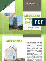 CLASE 11 CONSTRUCCION I CISTERNAS Y TANQUE ELEVADO.pptx