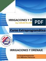 Sesión 04 Irrigaciones y Drenaje