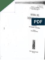 DCII. S6 BARBERO DOMENICO. Sistema Del Derecho Privado. Introducción. Parte Preliminar. Parte General - LECTURA 1