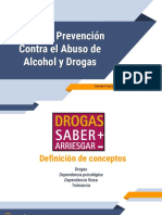 Taller Drogas y Alcohol