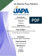 (Naysy) Tarea 1 Historia Del Derecho y de Las Ideas Politicas