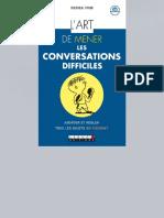L'Art de Mener Les Conversations Difficiles _ Aborder Et Régler Tous Les Sujets Qui Fâchent