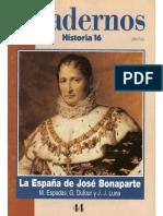 Cuadernos Historia 16 044 1996 La España De José Bonaparte.pdf