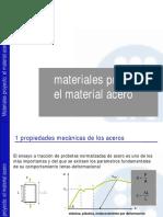 Materiales Proyecto. El Acero