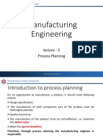 Lecture 3 Process Planning