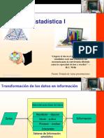 Conferencia 1 y 2 Estadística Descriptiva 2017