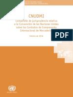Compendio de Jurisprudencia Sobre La Conv de Viena de 1980 de La CNUDMI -2016