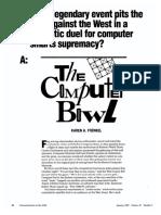 Computer Bowl