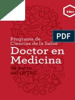 (PENSUM) Programa Doctor en Medicina.