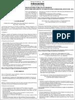 Convocatoria Publica 002 20016 Profocom