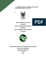 Plan de Manejo y Conservacion Del Paramo Oceta