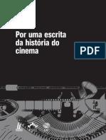 Por Uma Escrita Da História Do Cinema