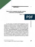 Estilo, Caracter y Estructura en Psicodiagnostico