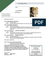CurriculumVitae - Felipe Gomez Romero