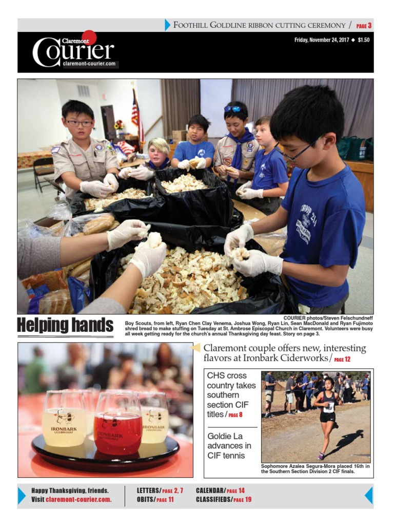 Claremont courier 11 24 17 further education schools dailygadgetfo Images