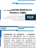 4.6 Investigacion de Accidentes y Enfer. Ocupacionales