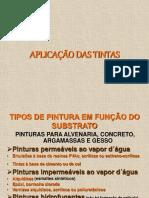 APLICAÇÃO DAS TINTAS.ppt