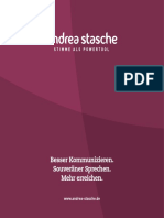 Andrea Stasche Kommunikationstrainerin (Broschüre)