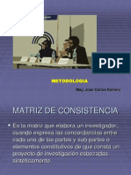 Ejemplo de Matriz Jose Romero.