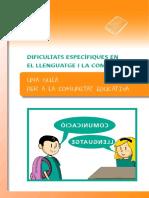 Guia Dificultats Específiques en El Llenguatge i La Comunicació - Modif