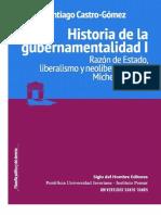 Historia de La Gubernamentalidad I - Castro Gomez, Santiago