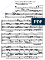 Winter Quartet Score