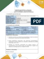 Guía de Actividades y Rúbrica de Evaluación - Paso 2 - Análisis Situación Problema